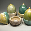 Acorn Boxes by Kate Malone